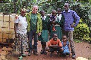 Meine Kaffee-Farmer-Family am Mount Elgon