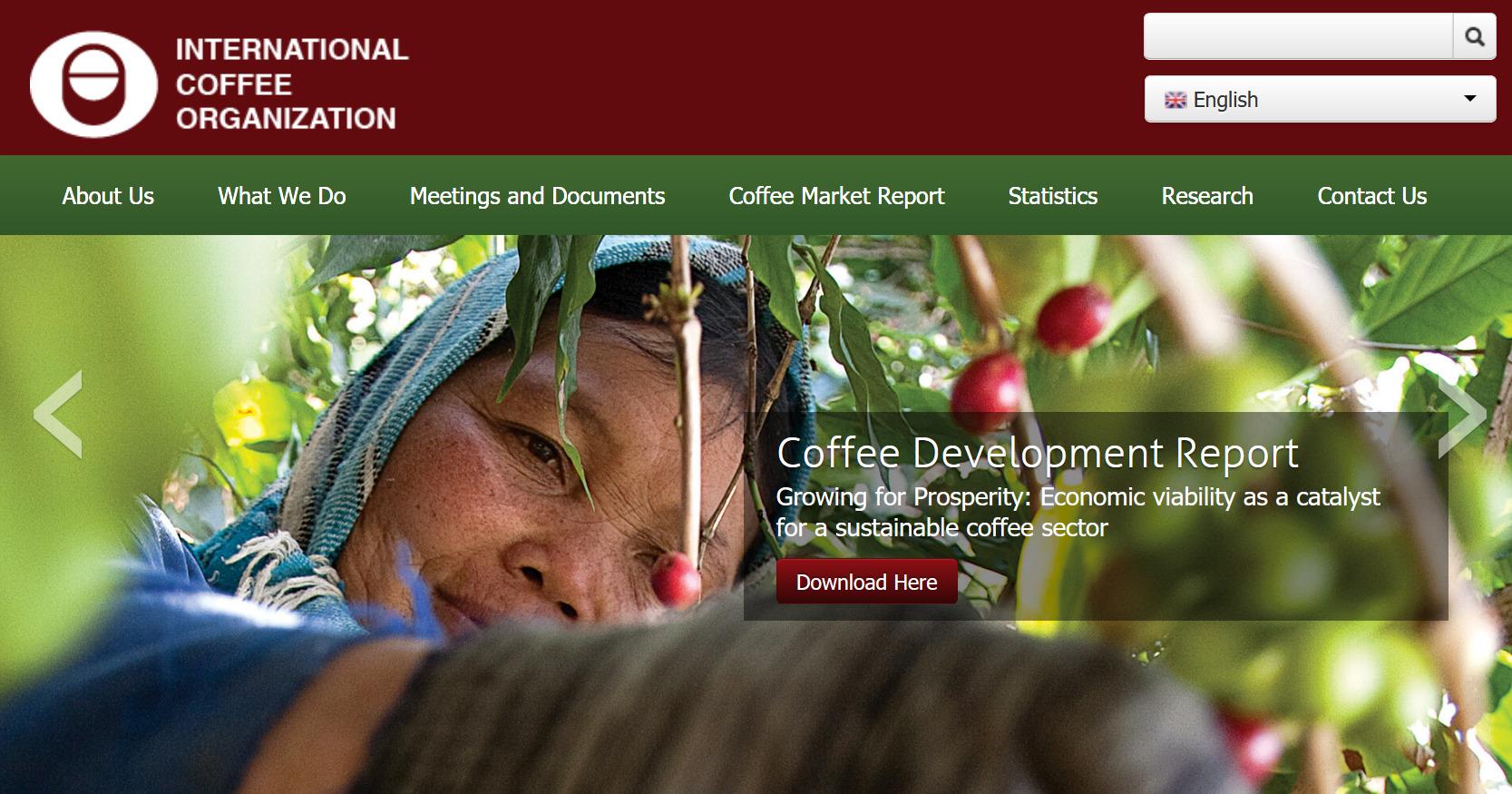 Die Internationale Kaffeeorganisation I.C.O.