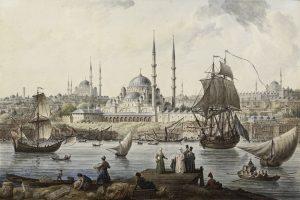 Der Hafen von Istanbul. Von hier aus gelangte auch Kaffee nach Europa.