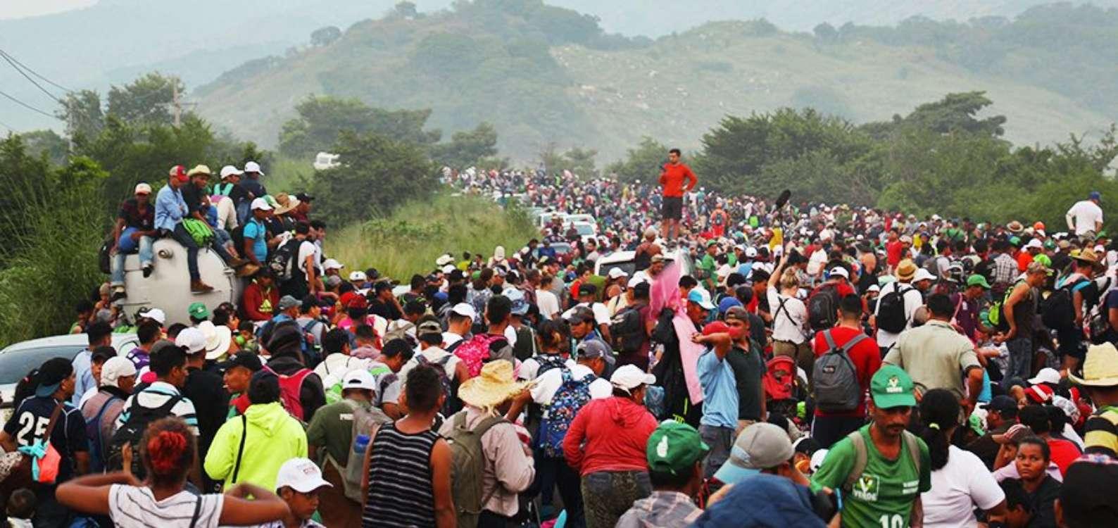 Klimawandel, Gewalt und Armut: Flüchtlingstrecks aus Mittelamerika