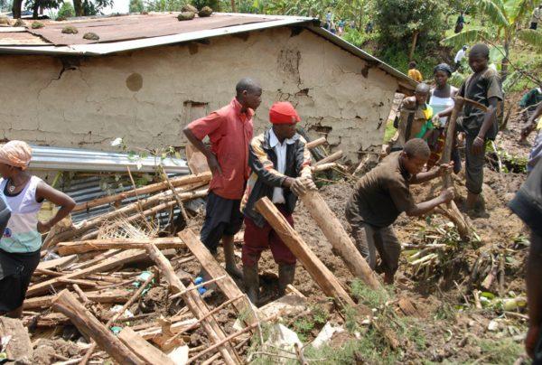 Häuser und Hütten zerstört - 2013