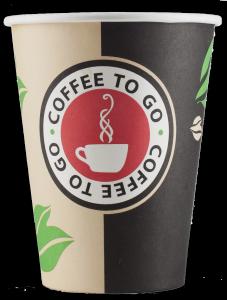 Coffee-to-Go Becher. Material-Mix ist schlecht oder gar nicht zu recyceln.