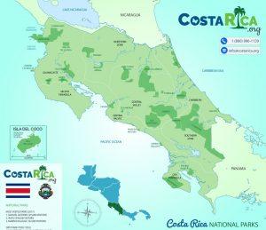 Nationalparks in Costa Rica überlappen sich mit Kaffee-Regionen