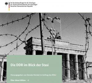 Die neue Website der Stasi-Unterlagenbehörde