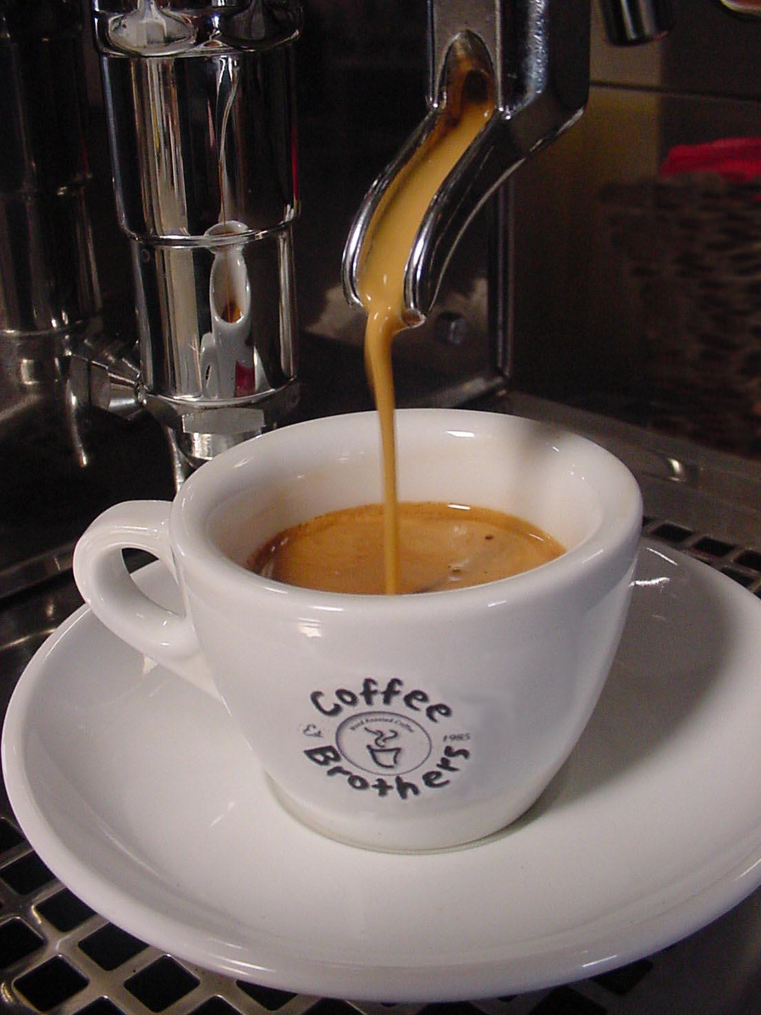 So muß guter Espresso aussehen.