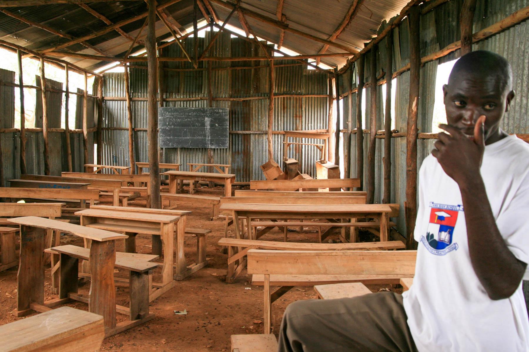 Klassenraum in der Privat-Schule