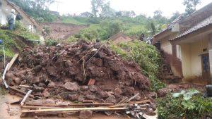 Auswirkungen Bergrutsch Ost-Java Januar 2021