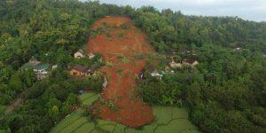 Bergrutsch auf West-Java 2021