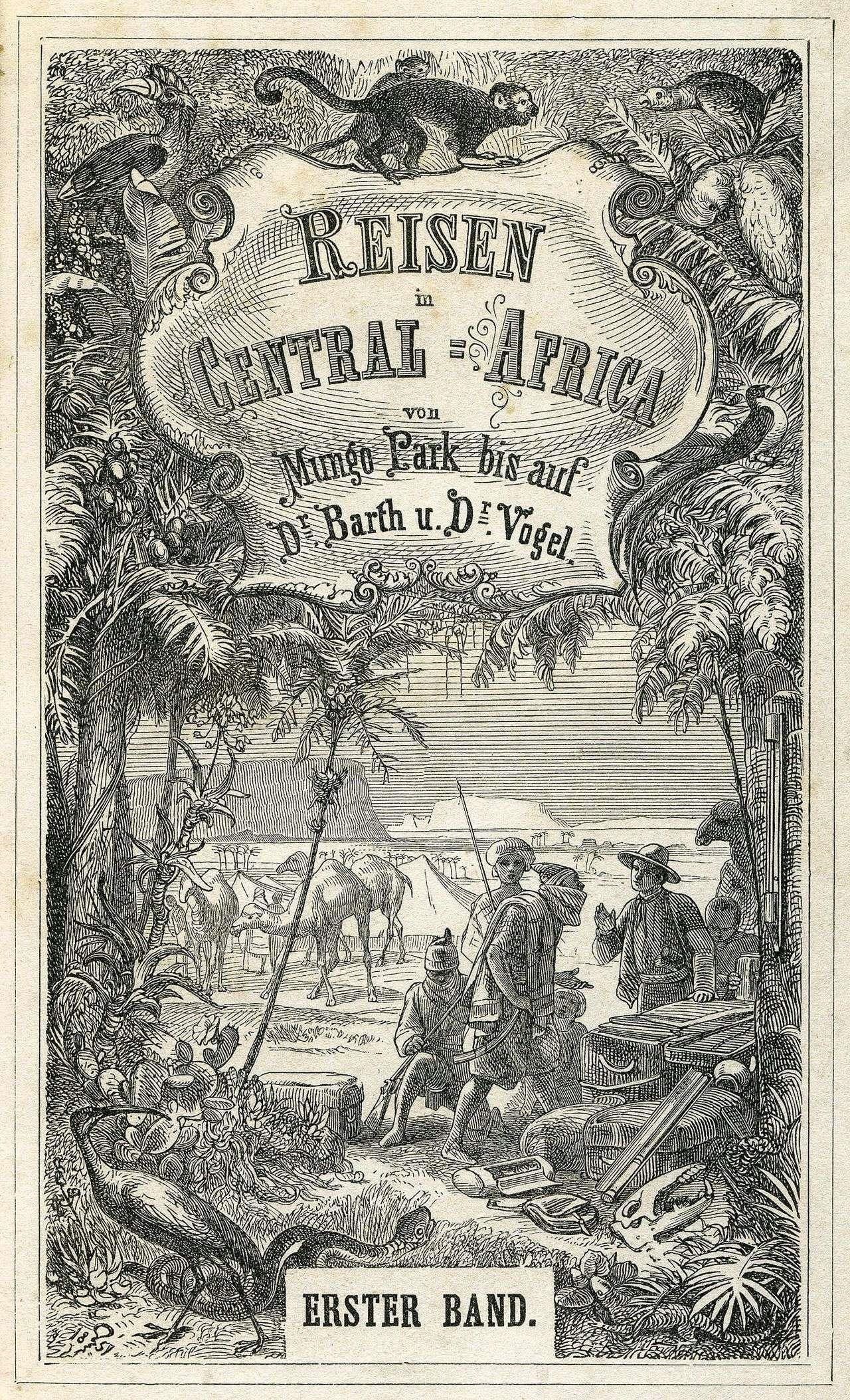 Der koloniale Blick – Afrika – Leipzig 1856