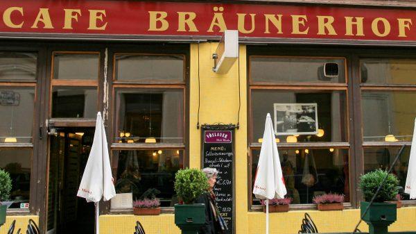 Café BRÄUNERHOF - das Stammcafé von Thomas Bernhard