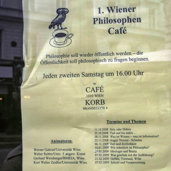 Eine alte Kaffeehaus-Tradition lebt auf - wie lobenswert!