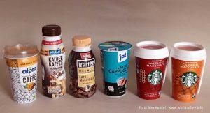 Kaffee-Kaltgetränke aus dem Kühlregal