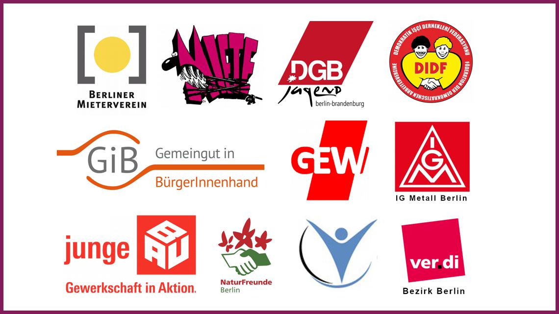 Berliner Mietenwahnsinn stoppen! Enteignen! Zivilgesellschaft mobilisiert für das Volksbegehren.